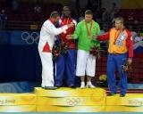 2008 Pekinas 120 kg pjedestalas