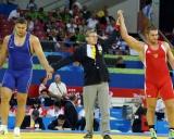 Mindaugas Mizgaitis (dešinėje) - Chasanas Barojevas (RUS)
