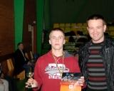 Čempionai noriai fotografavosi su šalies jaunimo rinktinės treneriu Olegu Antoščenkovu