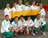 Lietuvos imtynių delegacija Švedijoje