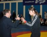 Teisėjai Arvydas Krikščiūnas ir Darja Minajeva