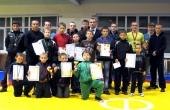 Tarptautiniame imtynių turnyre pergalėmis džiugino Marijampolės atletai