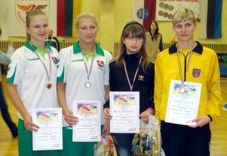 Deimantė Butavičiūtė, Indrė Bubelytė, Kamilė Gaučaitė ir Vaida Puidaitė