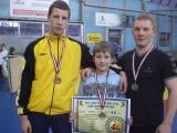 E.Gendvilis – tarptautinio imtynių turnyro Latvijoje nugalėtojas