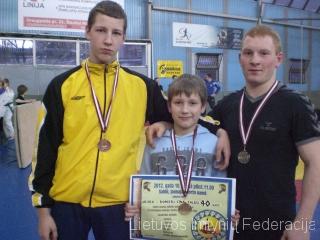 Lukas Revutas, Edgaras Gendvilis, Tomas Sobolevskis