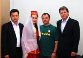 Lietuvos totorių bendruomenių sąjungos vadovai apsilankė LIF būstinėje