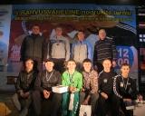 Turnyro Estijoje nugalėtojai ir prizininkai bei jų treneriai