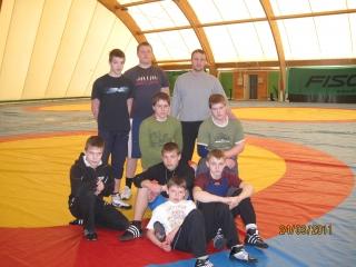 Jaunieji Lietuvos imtynininkai Baltarusijoje