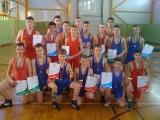 """Trys imtynininkai iškovojo """"auksą"""" tarptautiniame turnyre Latvijoje"""
