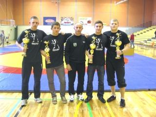 P. Visagorskis, A.Draugelis, V.Grišius, T.Grišius ir E.Voitechovskis