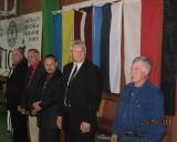 Varžybų atidarymas (iš kairės stovi) - Rimantas Bagdonas, Stasys Rimkus,meras Sigutis Obelevičius, Kęstutis Čepulis