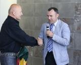 LIF garbės prezidentas Rimantas Bagdonas ir LIF prezidentas Darius Čepauskas