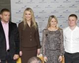 Aleksandras Kazakevičius, Lina Krištopaitytė, Laura Asadauskaitė ir Evaldas Petrauskas