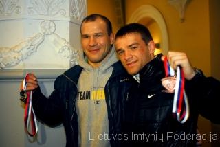 Mindaugas Ežerskis ir Aleksandras Kazakevičius