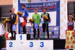 Kristupas Šleiva Europos jaunių čempionate užėmė trečią vietą