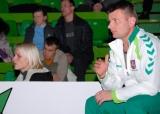 Treneris A.Kaselis: raginu auklėtinėms skiepyti gyvenimo siekius (foto)