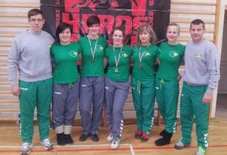 "moterų komanda po turnyro ""Czarny Bor Open"""