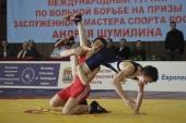 A.Draugelis ir T.Baracevičius – tarptautinio imtynių turnyro Kaliningrade prizininkai