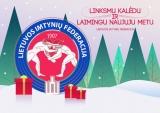 Gražių švenčių linki Lietuvos imtynių federacija!