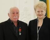 Treneris Grigorijus Kazovskis ir prezidentė Dalia Grybauskaitė