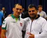Ruslanas Vartanovas ir jo senas bičiulis dukart olimpinis čempionas Armenas Nazarianas