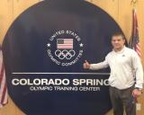 A.Kazakevičius JAV olimpiniame centre Colorado Springse