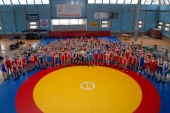 Šalies jaunučių imtynių pirmenybėse dominavo Vilniaus komanda