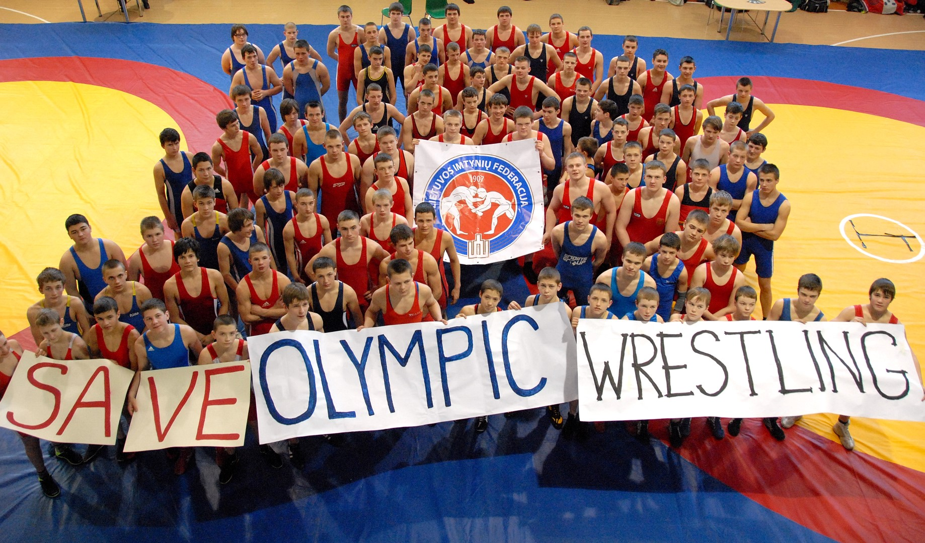 Save Olympic Wrestling Cover Photo Lietuvos imtyni...