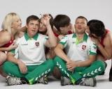 Iš kairės: Indrė Bubelytė, treneris Andrius Stočkus, Kristina Domikaitytė, Danutė Domikaitytė, treneris Aivaras Kaselis, Giedrė Blekaitytė