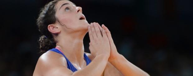 Olimpinė čempionė Natalija Vorobjova