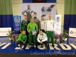 2013 Lietuvos imtyniu komanda Taline