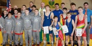 Lietuvos ir JAV sportinininkai Teresine