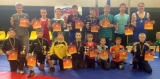 Dėl Lietuvos imtynių vaikų pirmenybių medalių Kupiškyje kovojo 171 sportinininkas