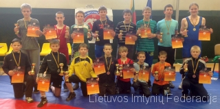 2013 m. Lietuvos graikų-romėnų imtynių vaikų pirmenybių nugaletojai
