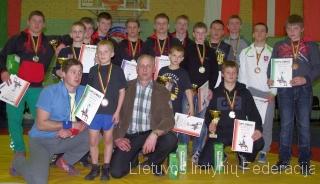 A.Butkevičiaus taurės laimėtojai ir prizininkai