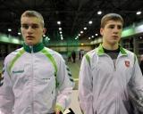 iš kairės - Justas Petravičius ir Darius Venckaitis