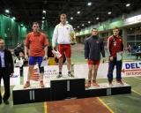 Nugalėtojų pakyla (96 kg) I v. - Romas Fridrikas (LTU), II v. - Dmitrijus Kaminskis (BLR), III v. Felix Baldauf (NOR) ir Vladimiras Ovrancovas (BLR)