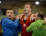 Treneriai Olegas Antoščenkovas, Ruslanas Vartanovas ir turnyro nugalėtojas Romas Fridrikas