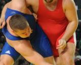 Igoris Fiodorovas (raudona triko) ir Danielas Ligetis (Vengrija)