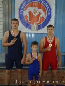 iš kairės: Eimantas Zavistauskas, Nojus Dijokas, Mantas Adomaitis