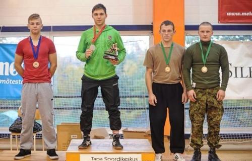 """Nugalėtojas ir prizininkai: 1 vieta Ričardas Ivanovas (LOSC); 2 vieta Madis Naarits (Tartu SK Englas); 3 vieta Brendonas Kuodis (Anykščių """"Ąžuolas"""") ir Dmitrijus Goriuško (SK Tapa)"""