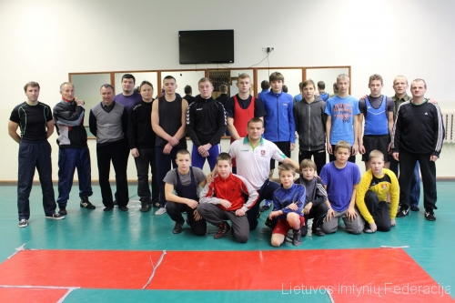 A.Kazakevičius vaikų treniruočių stovykloje