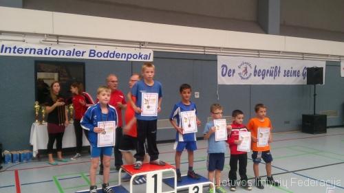 Turnyro nugalėtojas Valius Kavaliauskas (26 kg)