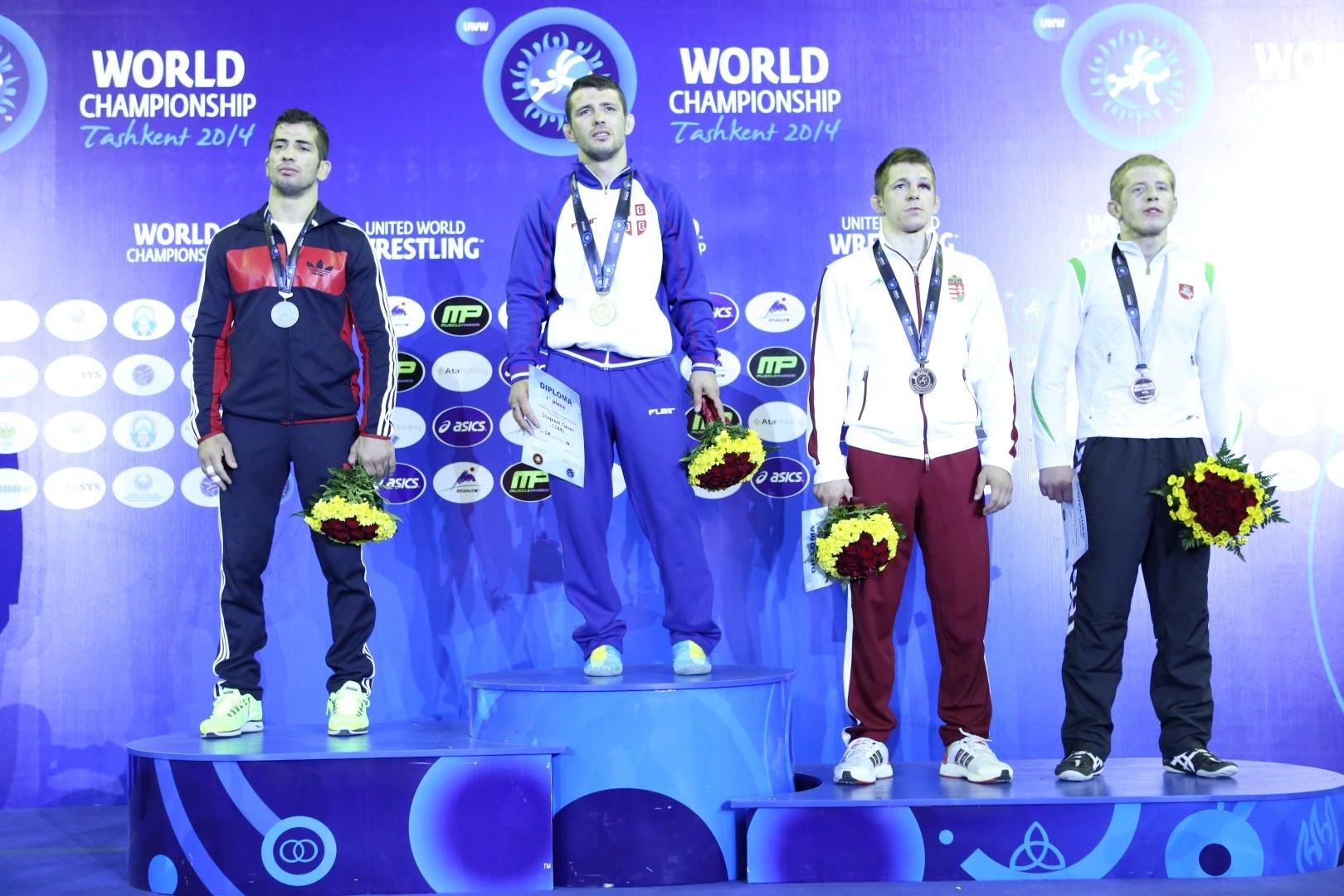Edgarui Venckaičiui - pasaulio čempionato bronza!