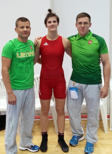 Iš kairės: Aivaras Kaselis, Danutė Domikaitytė ir Andrius Stočkus