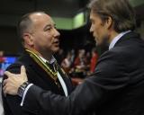 A.Gribojedovą sveikina KKSD generalinis direktorius Edis Urbanavičius