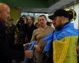 R.Bagdonas apdovanoja Ukrainos karius