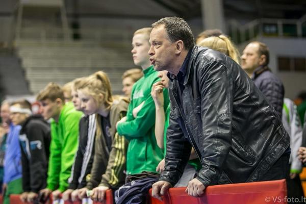 treneris Saulius Liaugminas