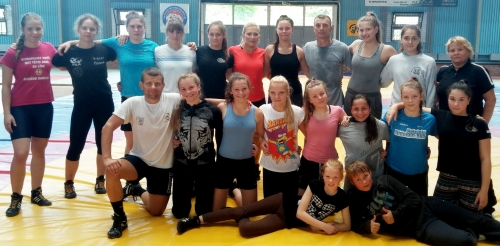 Treniruočių stovyklos Šiauliuose dalyvės