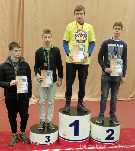 Lukaš Malyško - 1 vieta